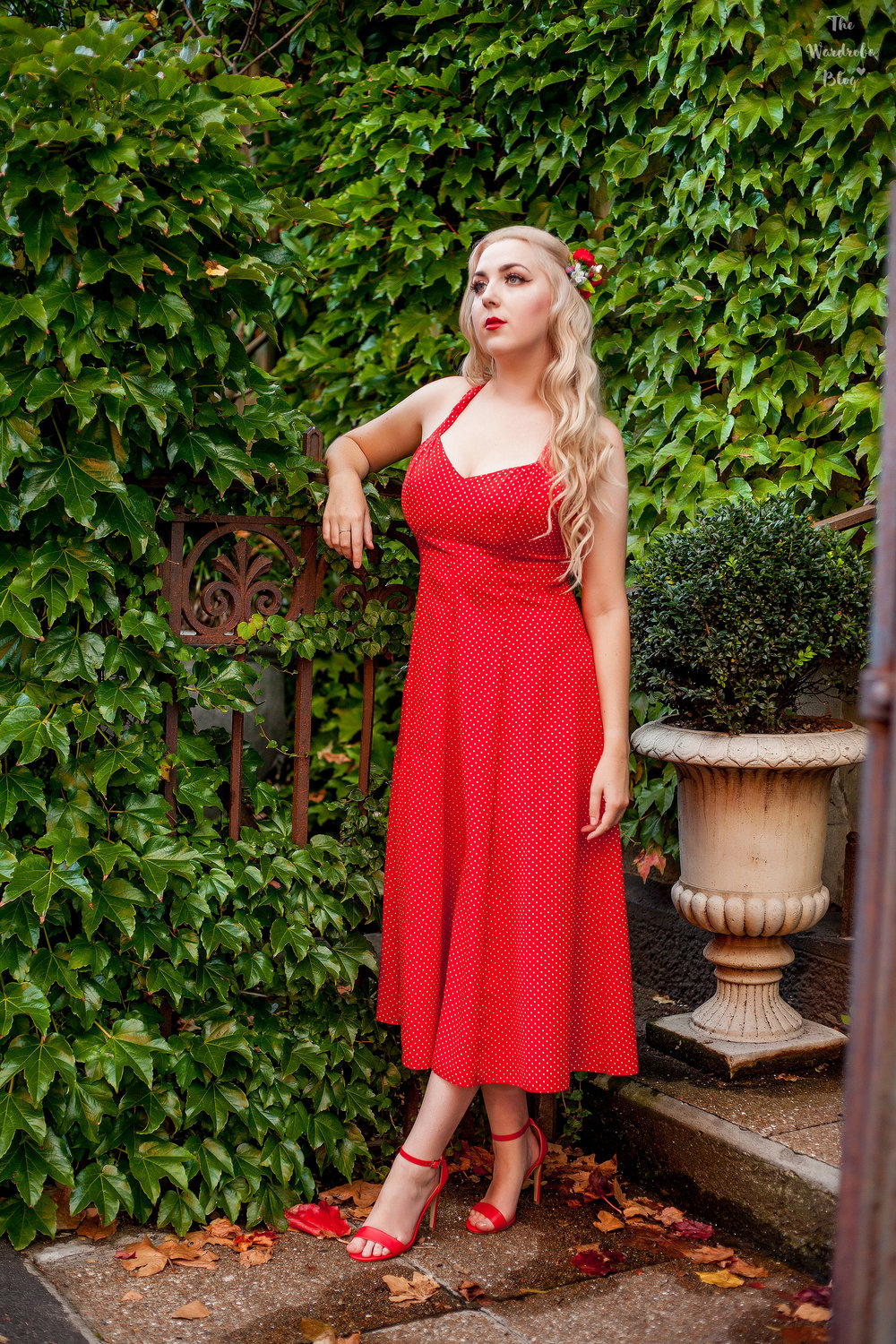 Red-Vintage-Polka-Dot-Dress