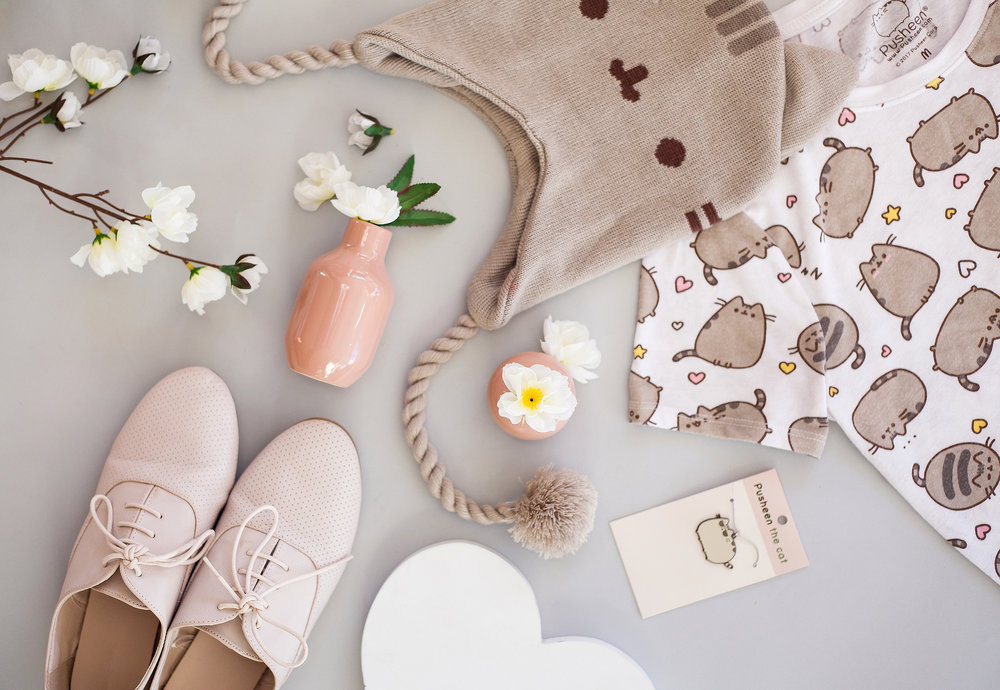 Pusheen-Self-Love-Flat-Lay-Spring
