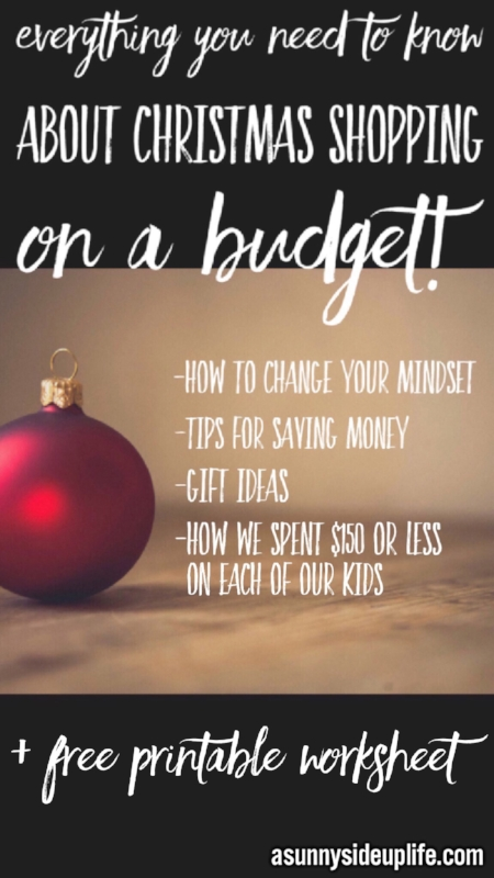 Everything you need to know about Christmas shopping on a budget!