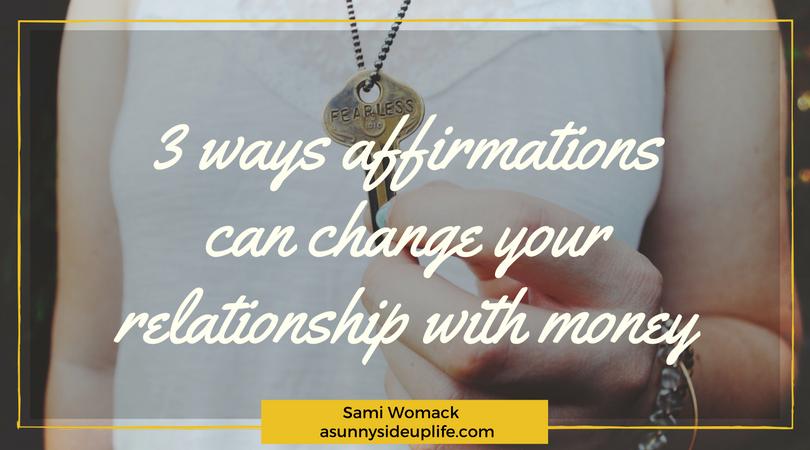 positive affirmation for money
