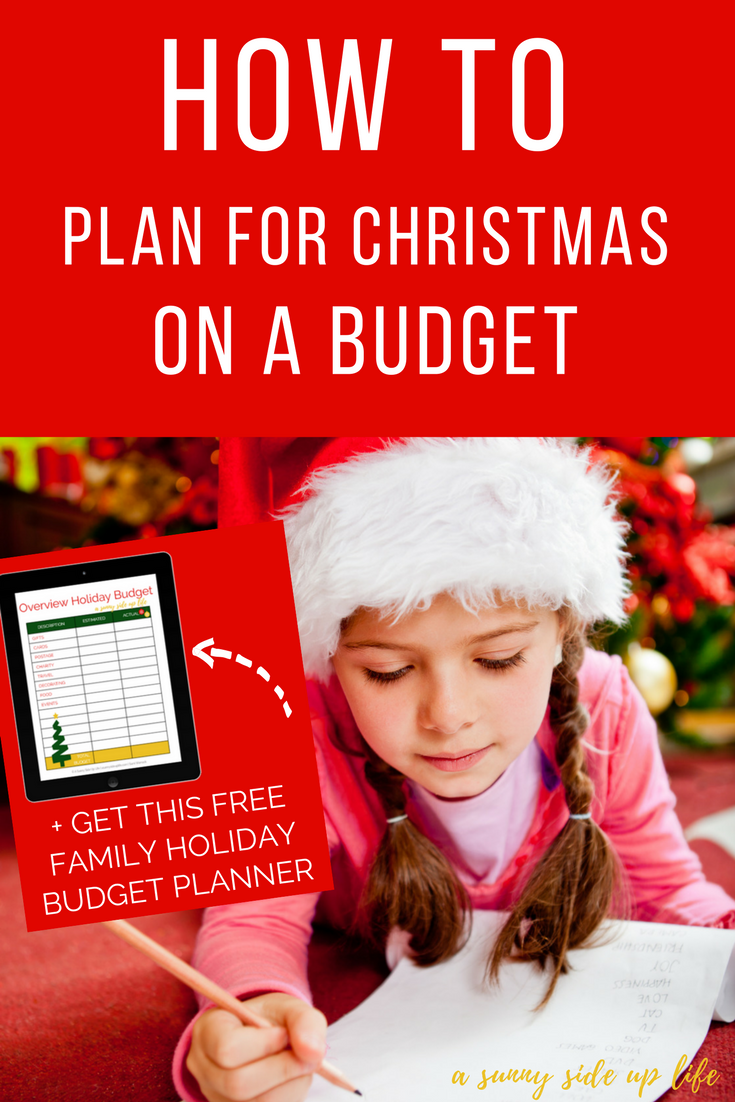 How to plan for christmas on a budget! Tons of tips and hacks for a family on a holiday budget!  budgeting | holiday budget | christmas budget | free holiday budget planner | free printable | christmas on a budget | budget friendly christmas | printable christmas planner | printable holiday planner | budget worksheets | budgeting for beginners