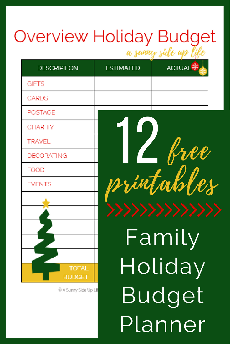 Love this Budget Planner!  budgeting | holiday budget | christmas budget | free holiday budget planner | free printable | christmas on a budget | budget friendly christmas | printable christmas planner | printable holiday planner | budget worksheets | budgeting for beginners