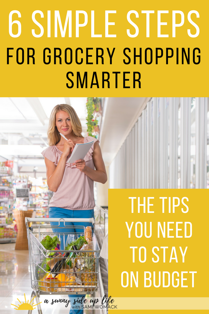 How to Grocery Shop Smarter | Sami Womack | budgeting | grocery shopping | household budget | spending | debt-free tips | staying on budget | grocery budget tips | making ends meet