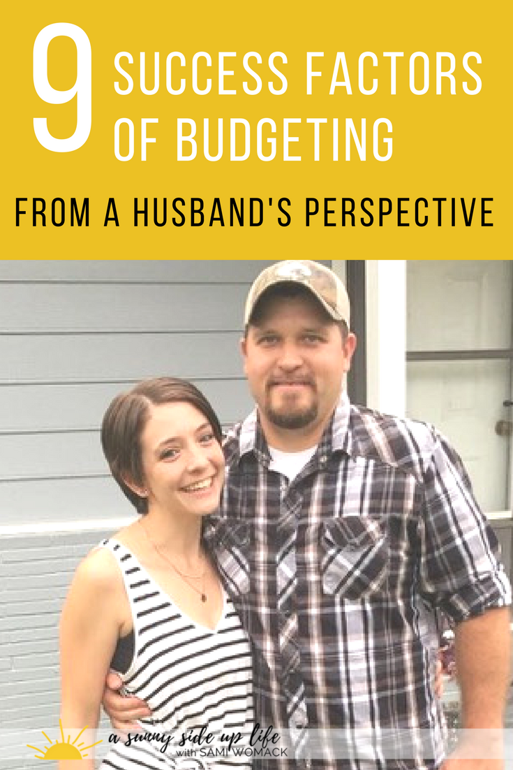 Best blog about a husband's take on a budget! Budgeting from a Husband's Perspective | Sami Womack | how to get your husband on board with budgeting | budgeting for beginners | where to start with a budget | my husband is a spender | how to become debt free | personal finance | marriage | agreeing about money | money fights | financially successful marriage | money fights | how to stop fighting about money | marriage and money | paying off debt | budgeting | budget | budgeting in marriage