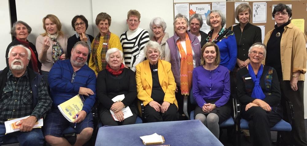 Participants at the Redlands Bridge Club