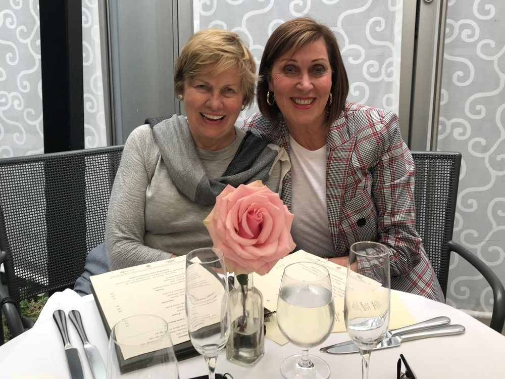 Audrey grant & Joan butts (JULY 2018)