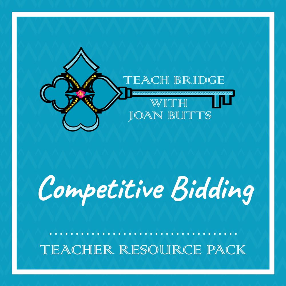 Competitive Bidding Teacher Resource Pack