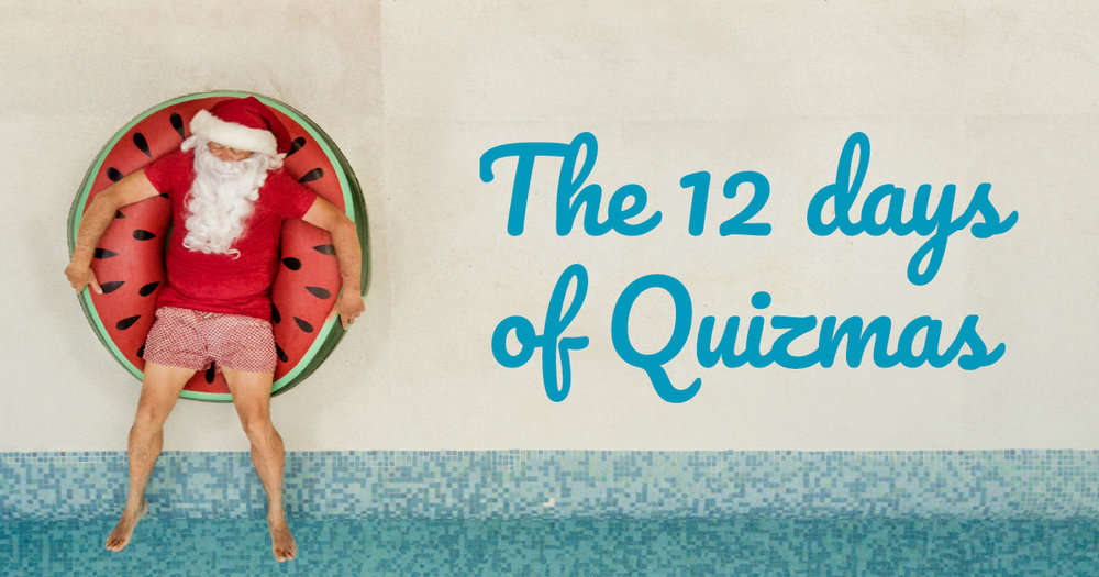 The 12 days of Quizmas - free bridge quiz questions and the chance to win