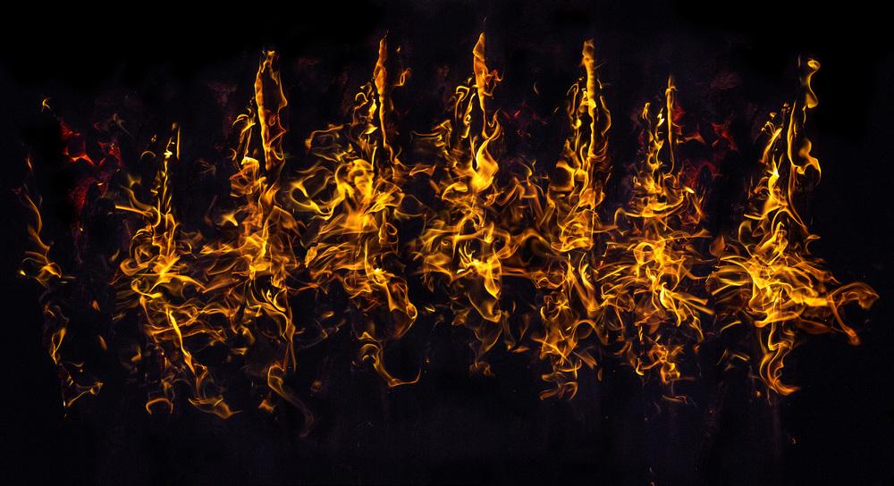 Burning Poles