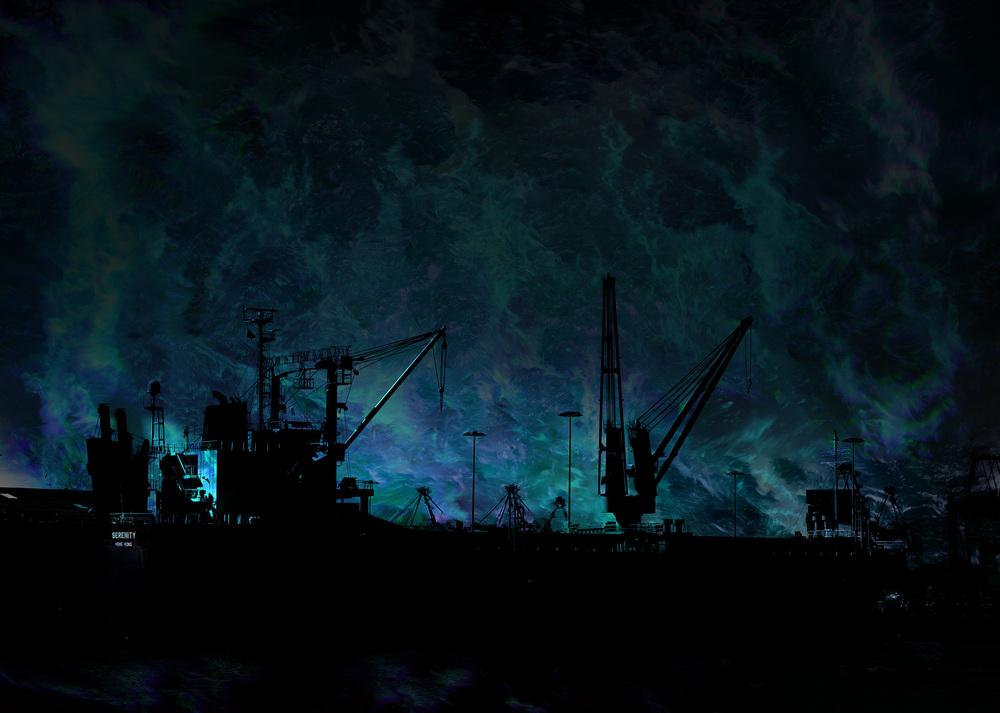 Dockside Moody Blue - Serenity, Hong kong