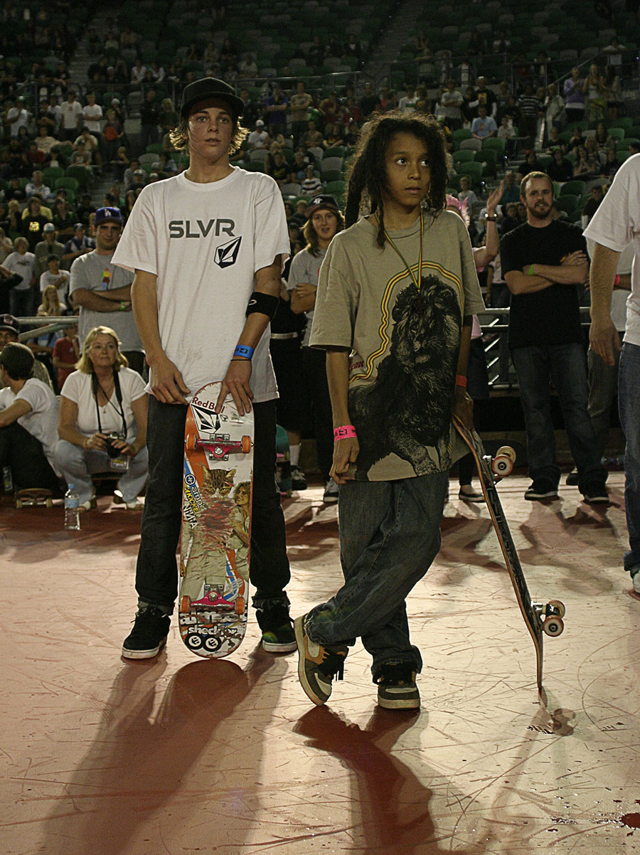 Ryan Scheckler & Nyjah Houston