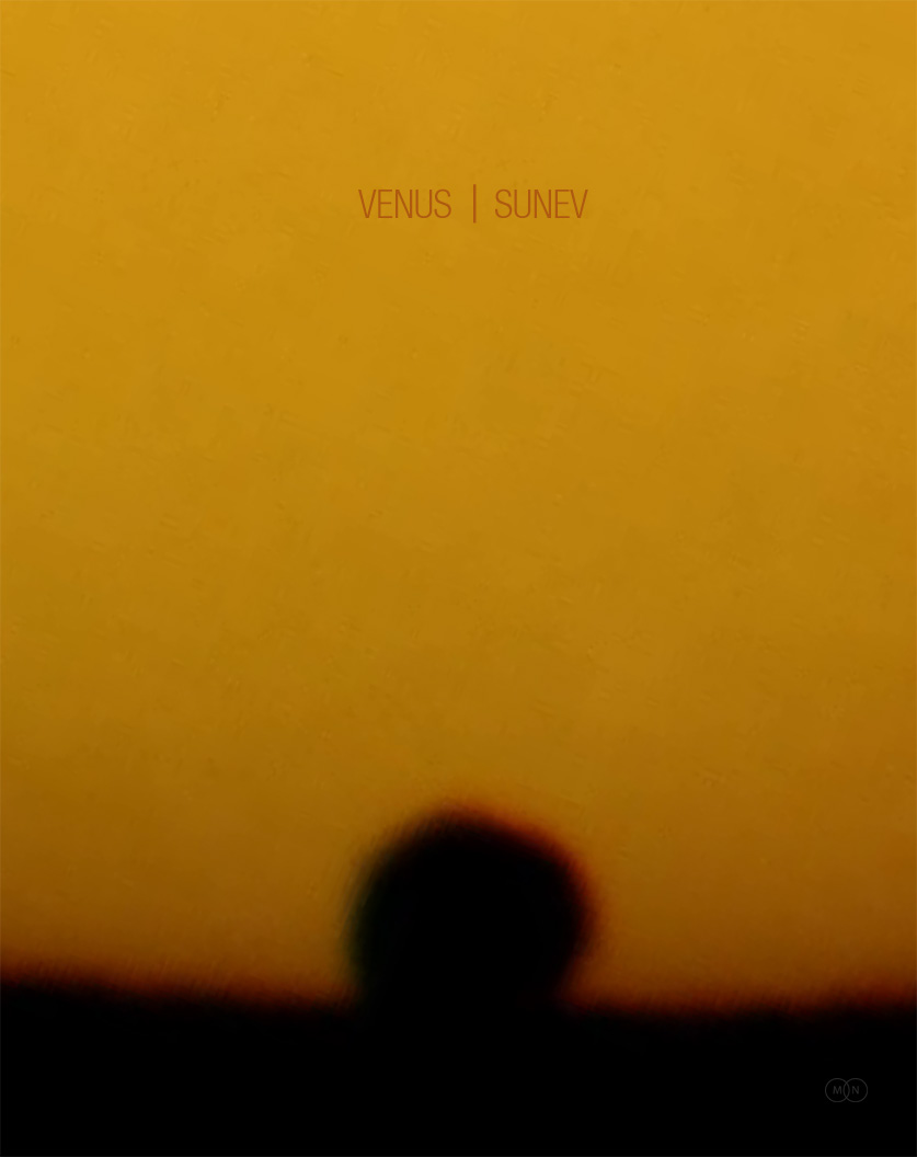 CD cover VENUS | SUNEV