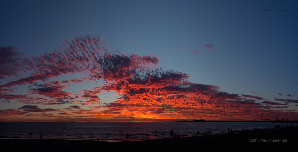 Sunset 38°C