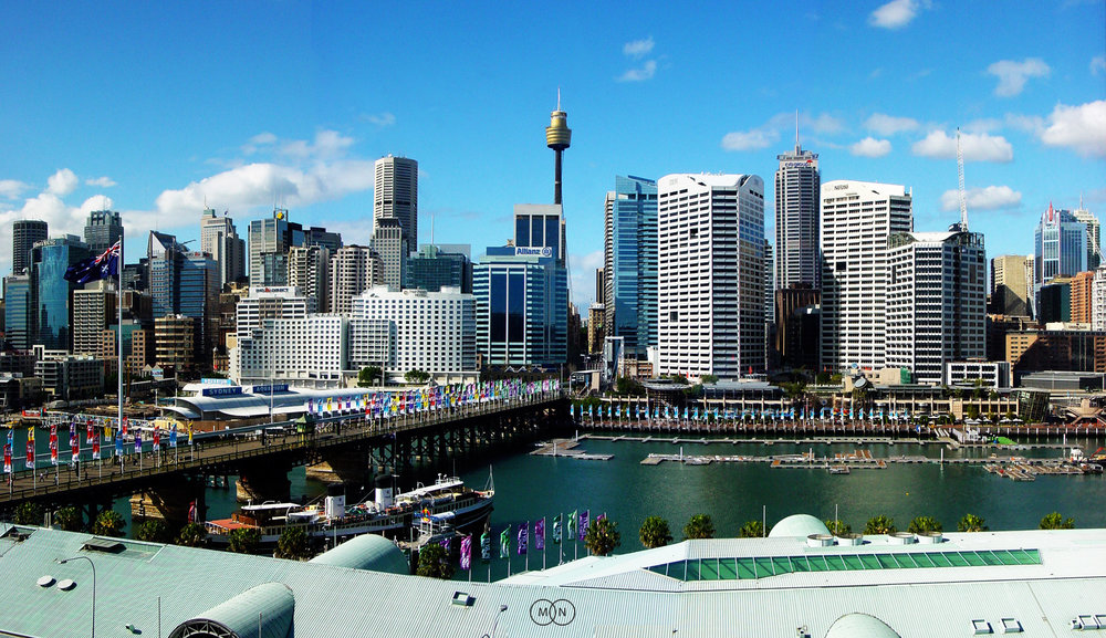 Retro Darling Harbour: Midday