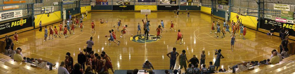 Interior basketball stadium - Whittlesea