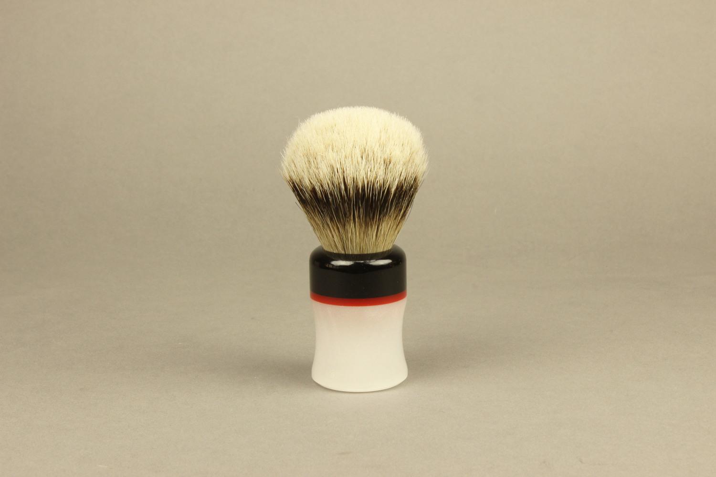 Shaving Brush: Acrylic Handle — Byron Shaving Company