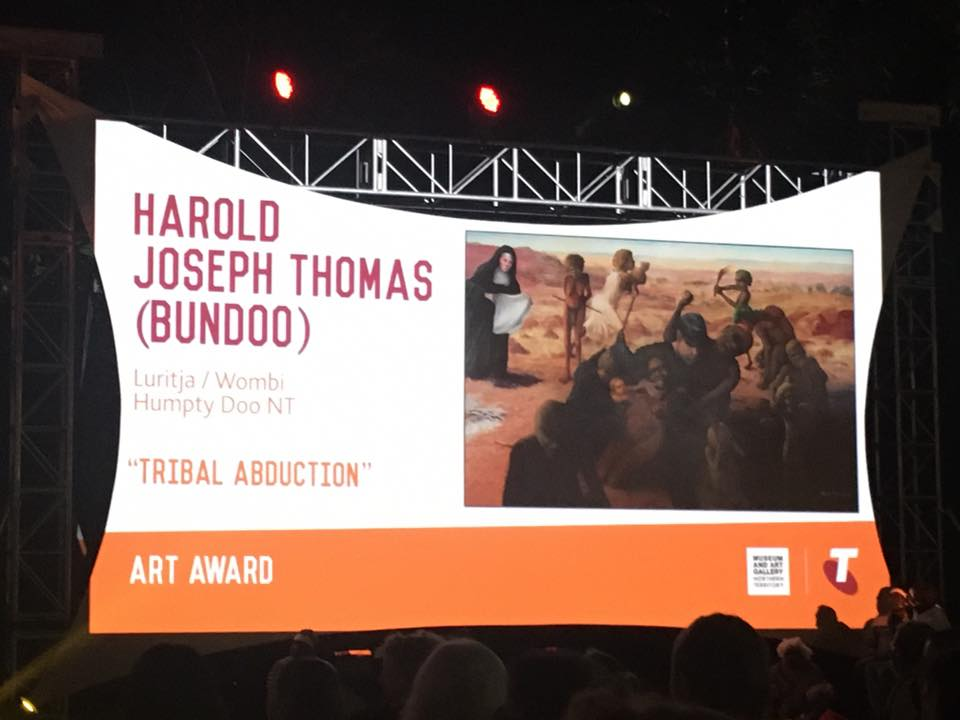 WINNER of the 33rd Telstra National Aboriginal and Torres Strait Art Award