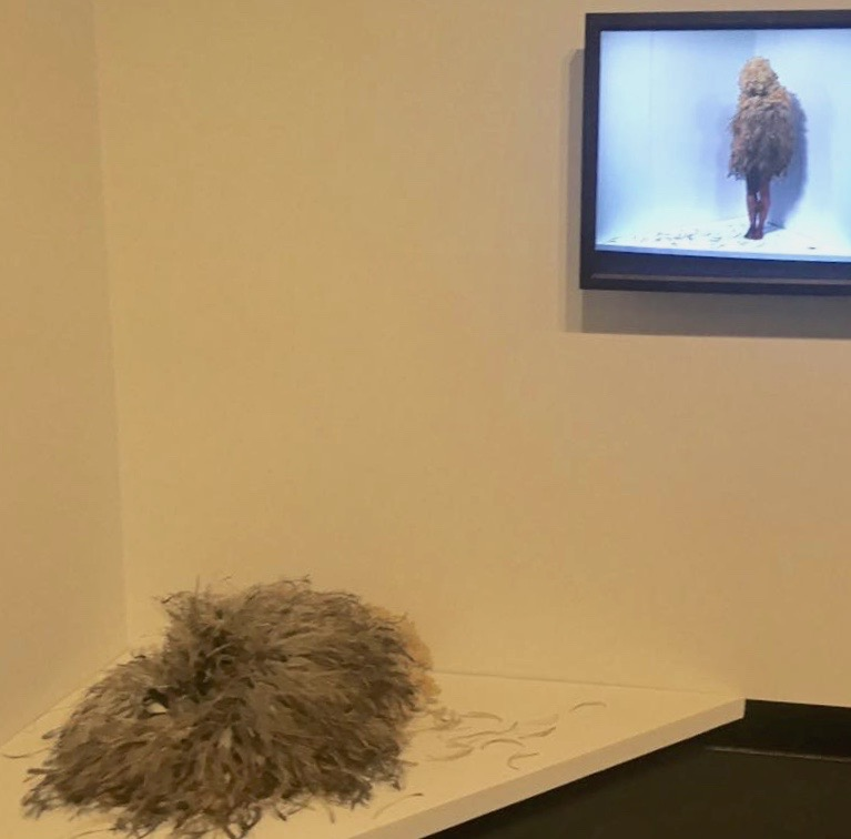 WINNER of the Wandjuk Marika Memorial 3D Award - Nicole Monks 'We Are All Animals' (Perfomance)