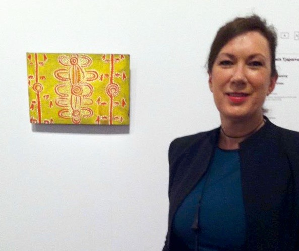 'Aux Sources de la Peinture Aborigène', Musée du quai Branly, Paris Exhibiting 'Mala Dreaming' by Johnny Warangkula Tjupurrula