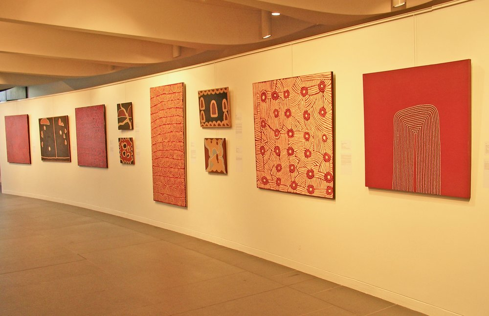 'Rêver, Découvrir, Investir', Australian Embassy, Paris Featuring works by Billy Duncan and Yalti Napangati
