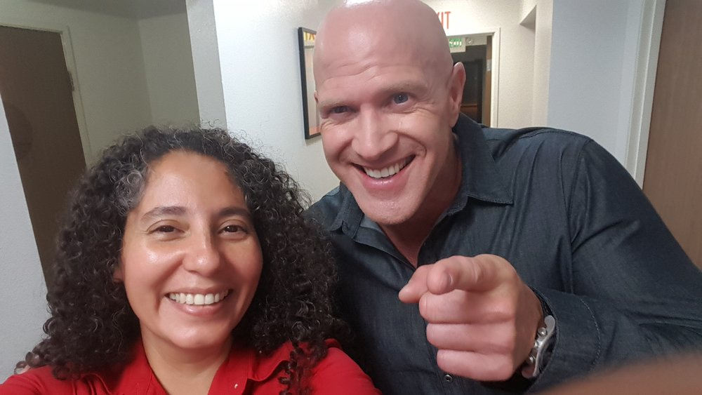 Wendy Pineda and Bruno Gunn