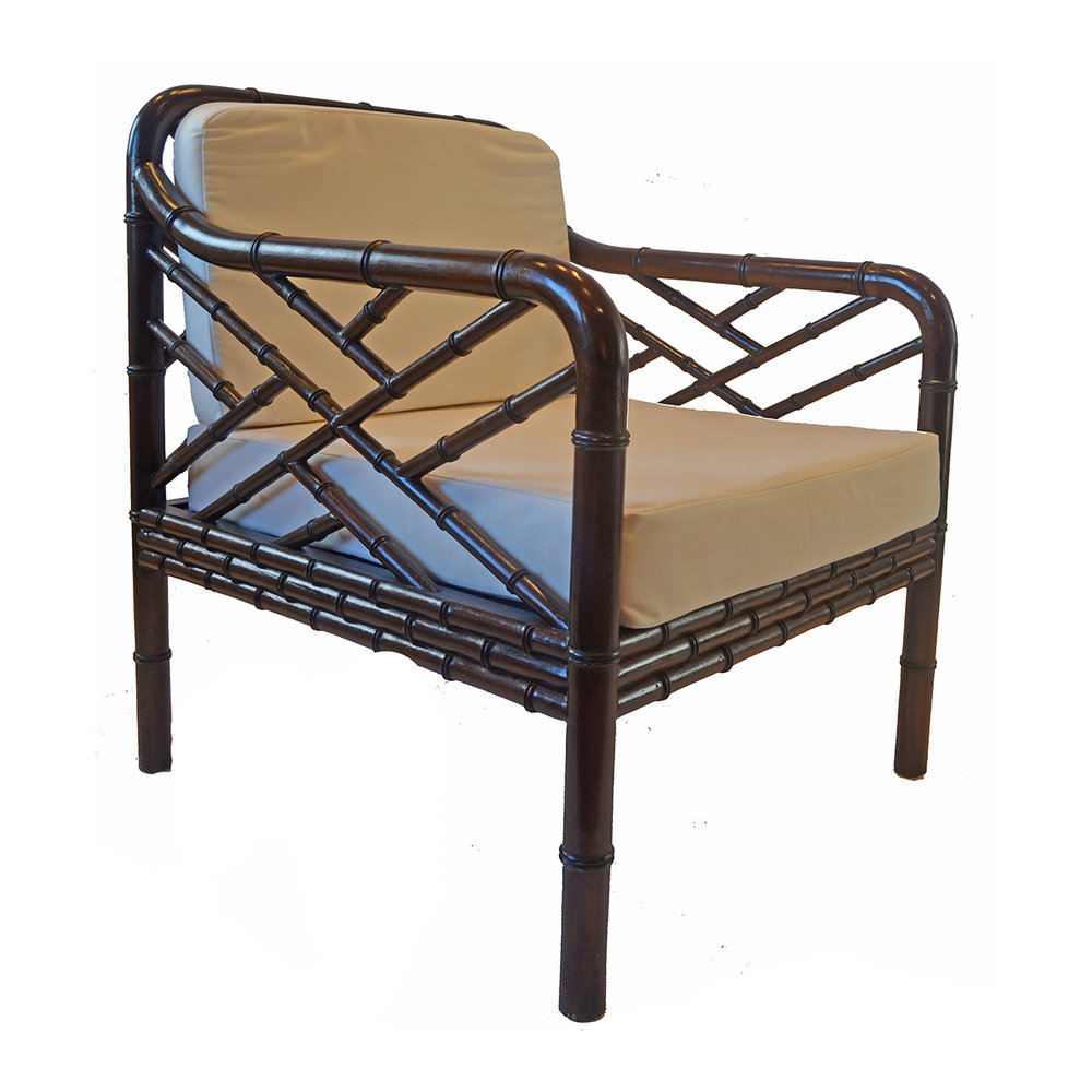 Bamboo Armchair (Custom Colour Available) POA