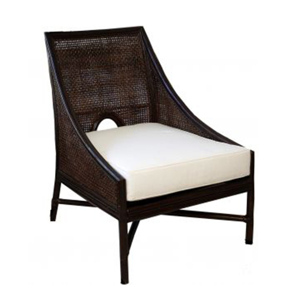 Hampton's Occasional Chair (white wash or Chocolate Stain) 750W x 600D x 970H - RRP $1,190.00