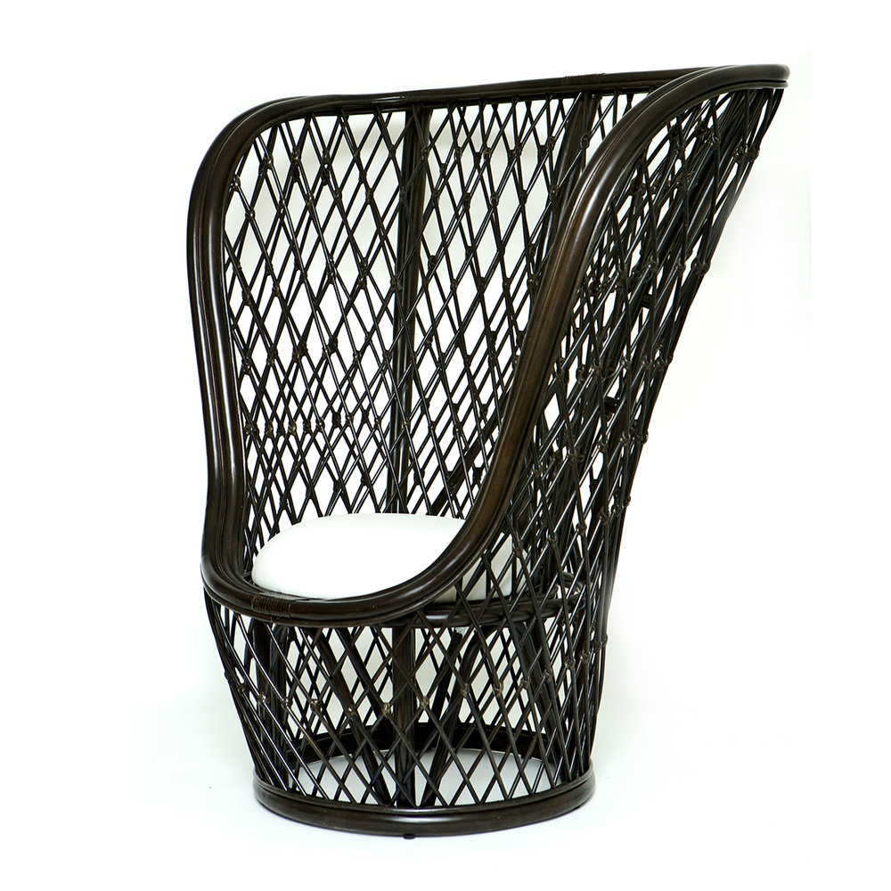 Caribbean Occasional Chair - Wenge - POA - Speacial Order