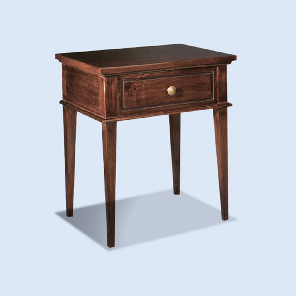 Colonial Bedside Table reclaimed Teak SML 450w x 350d x 600h RRP $950.00 / LG 500w x 500d x 600h RRP $1140.00