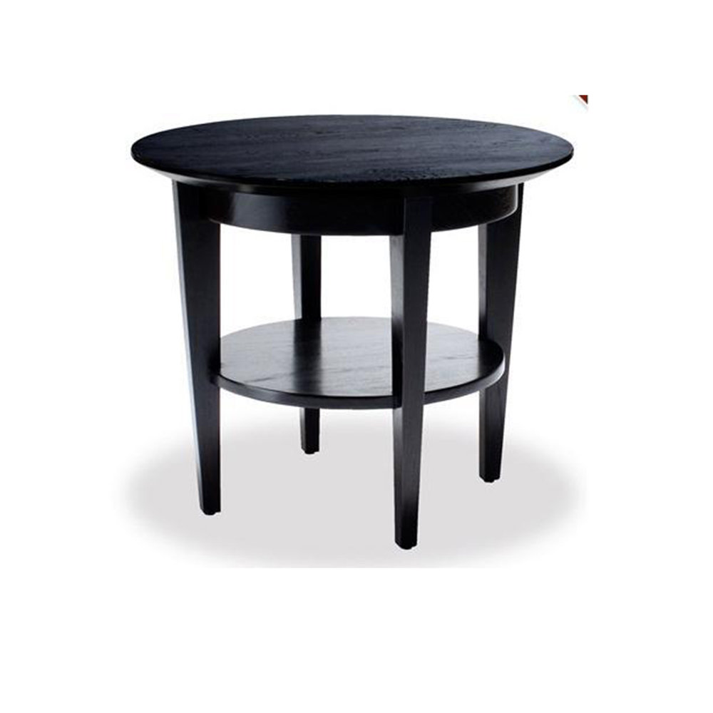 Low  Saucer Table Solid Mahongany 500dia x 650h - RRP $1140.00
