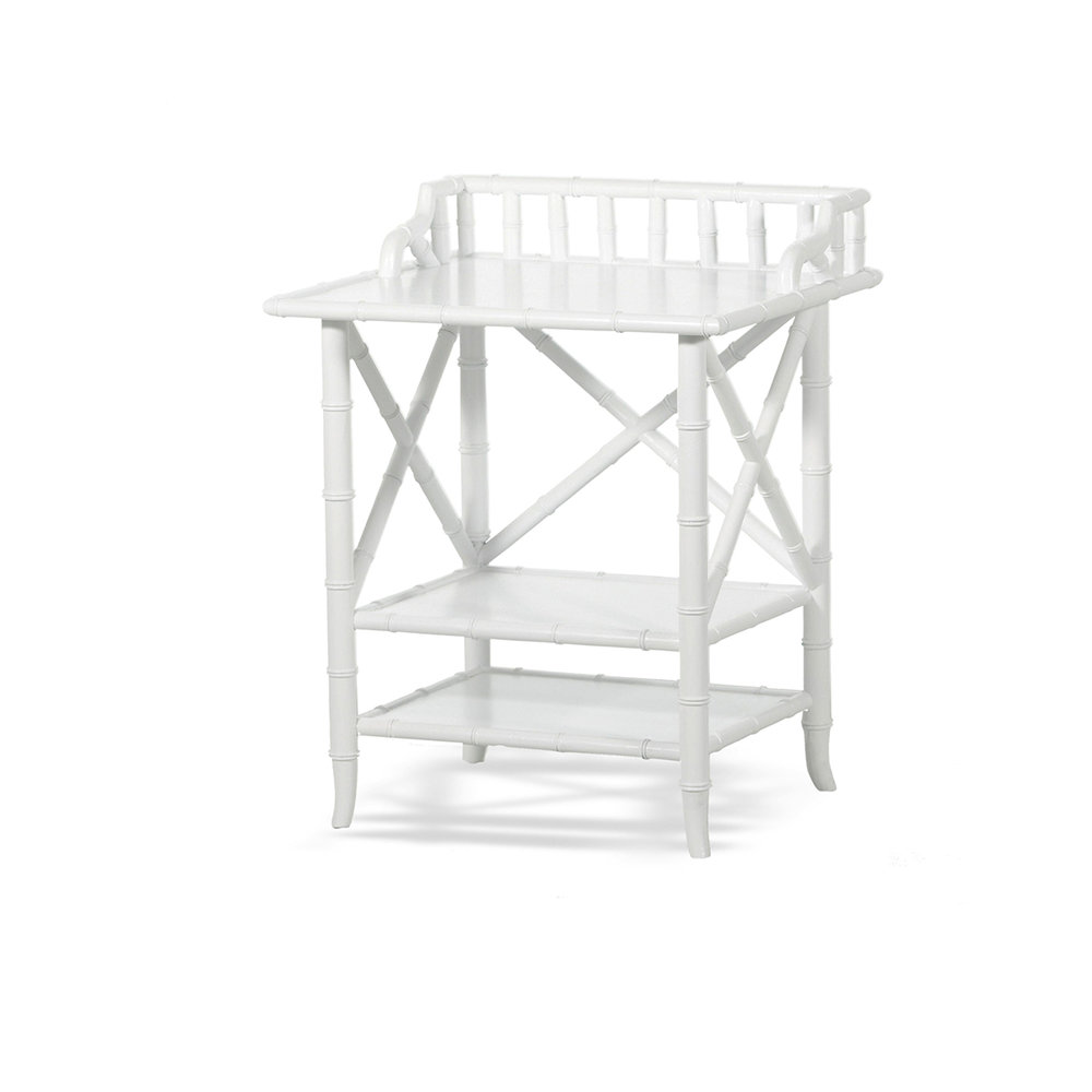 Colonial Bamboo Night stand (available in Black, natural, white) $980.00