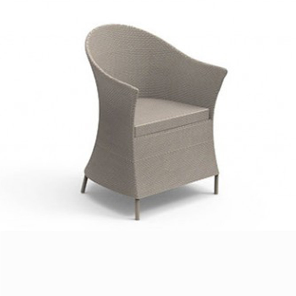 Talenti Circle Armchair $900.00 (Outdoor- Mokka, DOve grey, White)