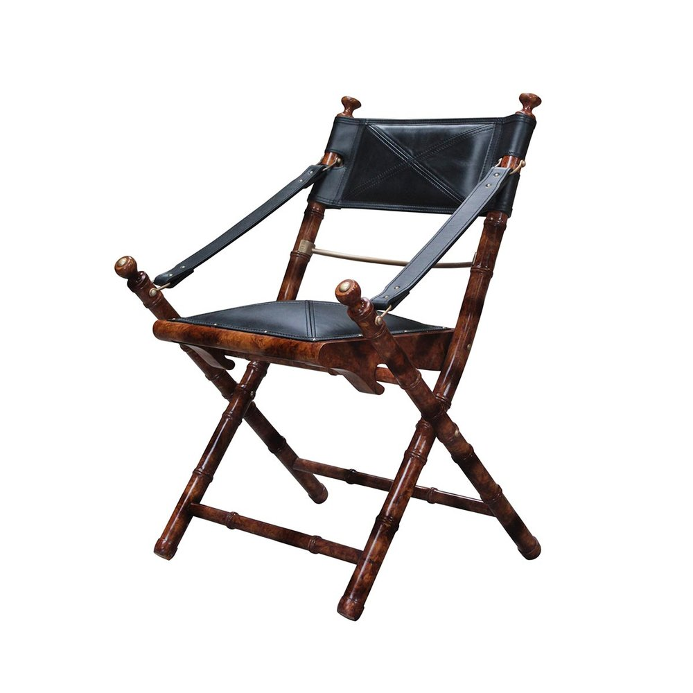 Campaign Bamboo Chair Espresso 570W X 590D X 960H - RRP $1320.00