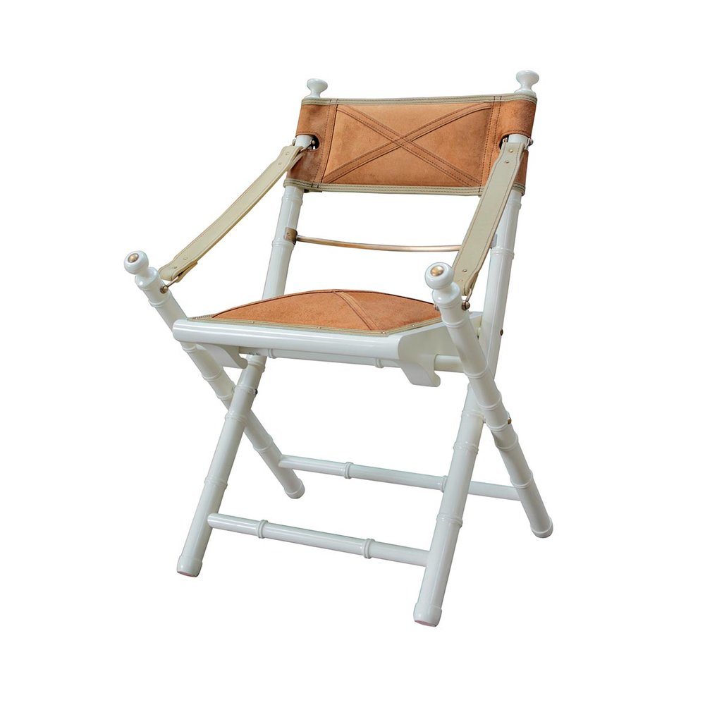 CAMPAIGN BAMBOO CHAIR (DRIFT) $1320.00