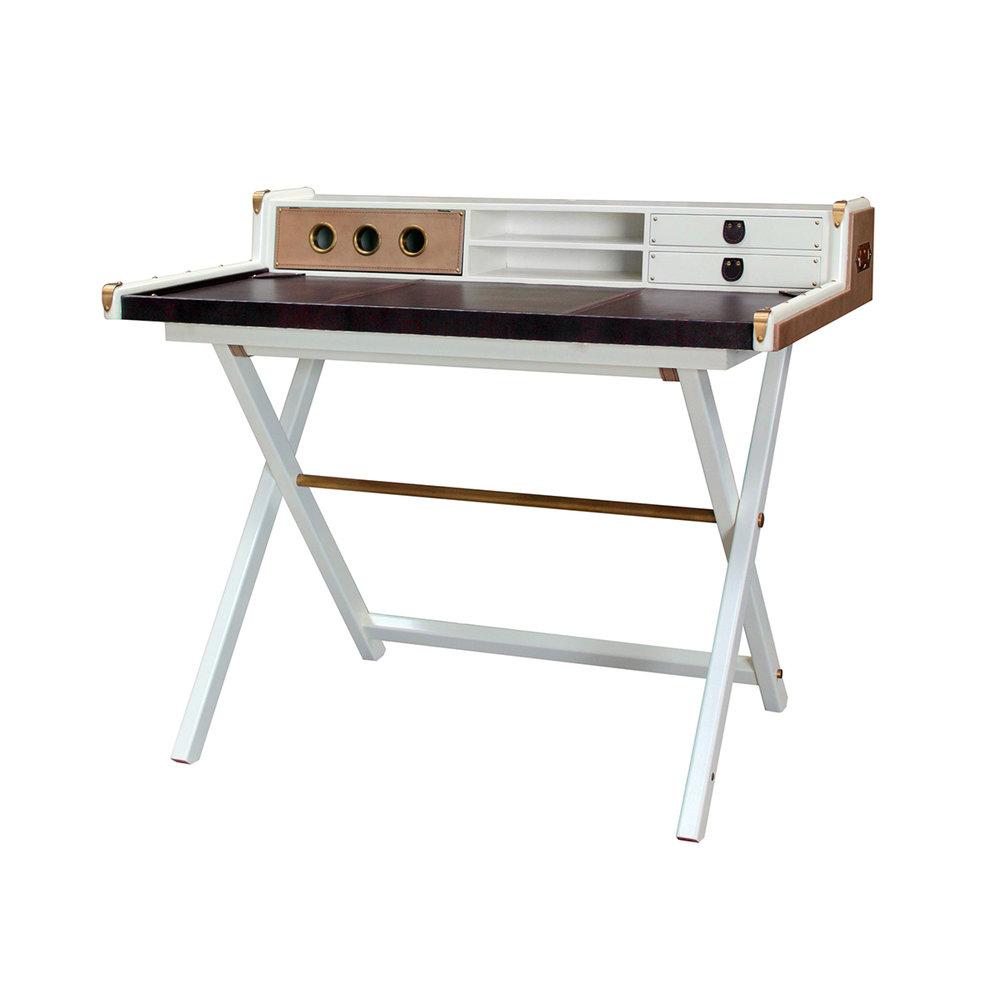 Victors Desk White 1100W X 700D X 900H - RRP $2,700.00