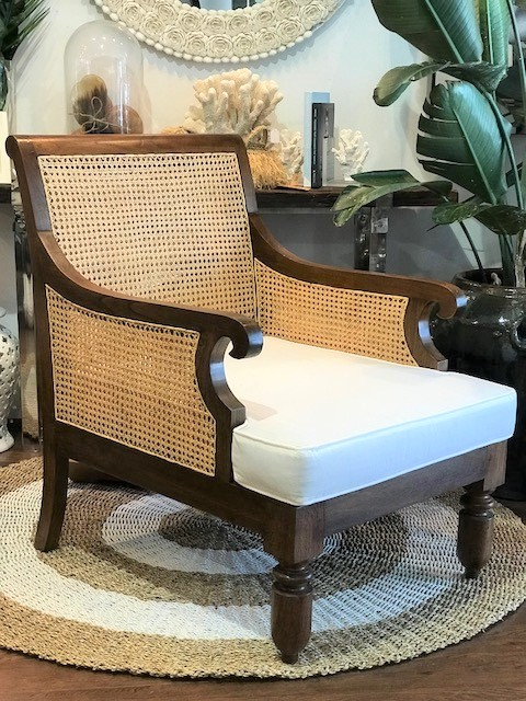 Colonial Lounge Chair - Reclaimed Teak 680W x 850D x 970H - RRP $1,900.00