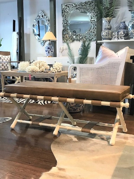 PALACE BENCH 1370W X 600D X 450H - SALE RRP $2400.00