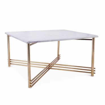 Stellar Marble Coffee Table 750w x 750d x 400h - RRP $2550.00
