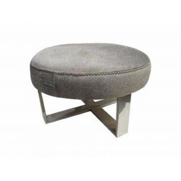 Nymeria Round Ottoman S/S Legs 970dia x 570h - RRP $2340.00