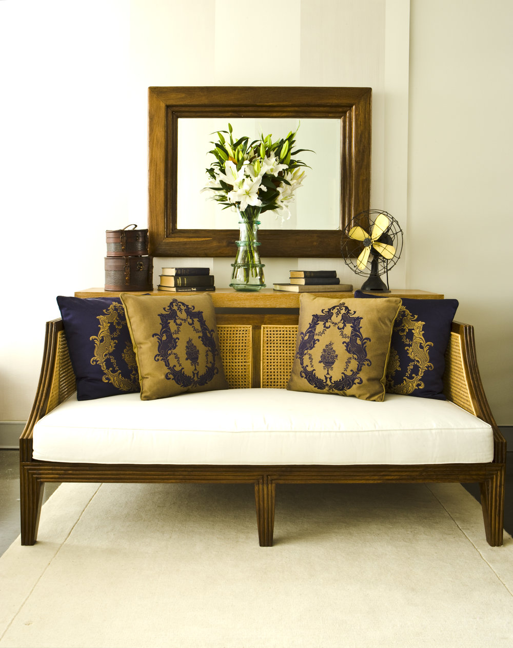 Colonial Sofa 2 Seater - 1800w x 850d x 800h - RRP $4500.00 / 3 seater 2100w x 890d x 800h - RRP $5200.00