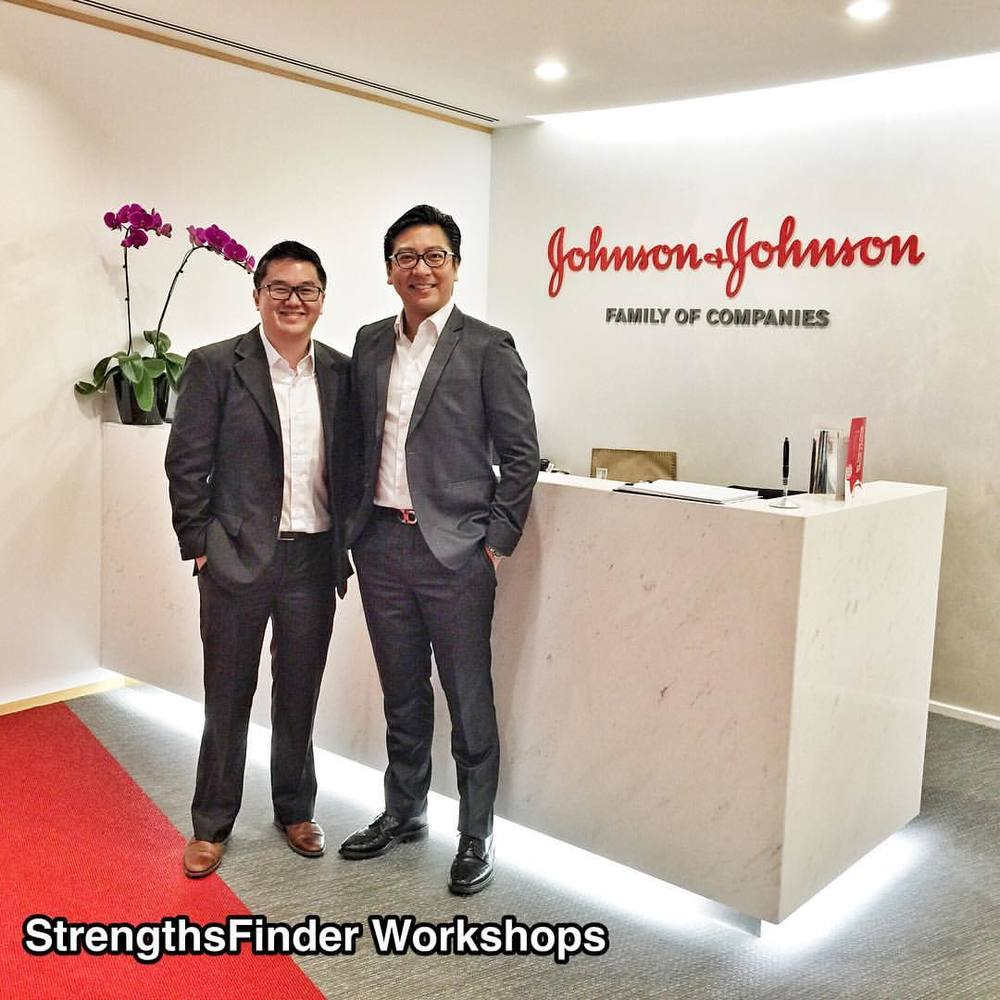 #StrengthsFinder workshop for Johnson & Johnson #Singapore     We enjoy working with companies that are committed to great work! Johnson & Johnson SIngapore is a brand that we think of fondly while growing up. I especially remember the brilliant 'no tears' shampoo for kids. You start to wonder why people make shampoo that hurt the eyes in the first place    After completing quite a few StrengthsFinder Workshops & trainings for them, we believe that they are poised to experience some awesome benefits. StrengthsFinder benefits like greater team synergy, a new level of respect and honor for others and a paradigm shift in how to 'catch people doing right(strengths)' rather than focusing on improvement areas     The conversations that their teams had during the StrengthsFinder training was both rich and meaningful. We look forward to impacting Johnson & Johnson in a way that can be felt organization-wide     Starting with the leadership, followed by the management and down to the frontline that impact the clients directly     #StrengthsQuest #StrengthsSchool #Gallup #StrengthsFinderSG #Asia #HumanResource #SelfImprovement #SelfDevelopment #TrainingAndDevelopment #ProfessionalDevelopment #StrengthsFinderCoach    Jason Ho • SouthEast Asia's 1st StrengthsFinder Certified Coach • Strengths School™ Singapore