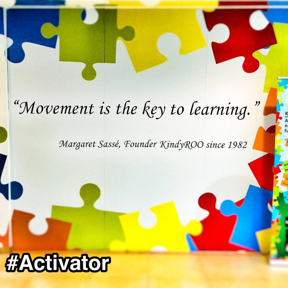Saw a #StrengthsFinder #Activator quote in a #Singapore mall    Movement is the key to learning  - Margaret Sassé     Out of all 34 strengths, I would say that this sounds most like an Activator's key to learning.     You might see Activators learning by pacing the floor walking up and down with a book in hand, spinning a pen, chewing gum or any other action-packed nuances one might think of.     Looking at the StrengthsFinder Activator definition: In fact, guided by your Activator StrengthsFinder theme, you believe that action is the best device for learning. You make a decision, you take action, you look at the result, and you learn. This learning informs your next action and your next.    So the next time you have a meeting, seminar or even study session and see one of your friend needing to just walk around and get up and about, he might have the talent Activator.     #StrengthsQuest #StrengthsSchool #StrengthsFinderSG #Asia #HumanResource #Gallup #SelfImprovement #SelfDevelopment #TrainingAndDevelopment #ProfessionalDevelopment #StrengthsFinderCoach    Jason Ho SouthEast Asia's 1st StrengthsFinder Certified Coach • Strengths School™ Singapore