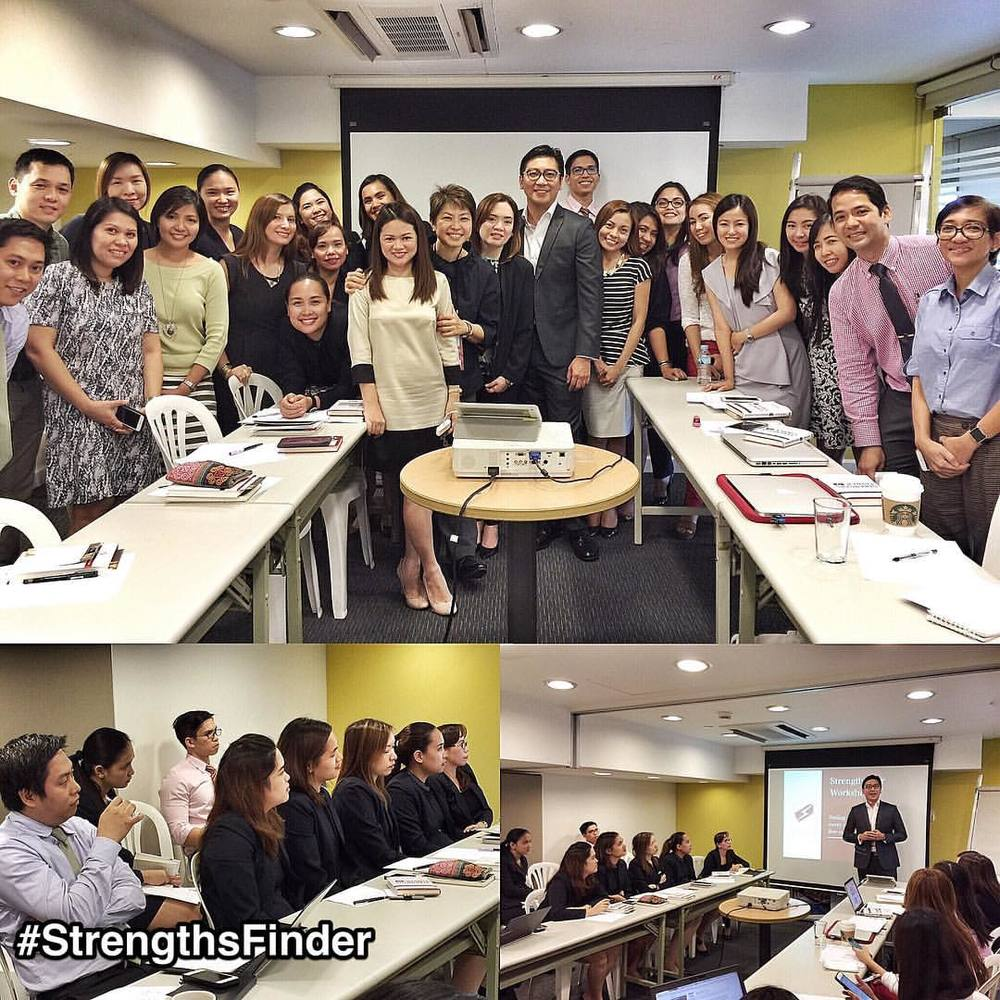 #Philippines #StrengthsFinder workshop & missing #Singapore  This time I did an mini-workshop for staff that consist of hotel hospitality, projects and IT department.  They were such a great crowd! They had their open StrengthsFinder books in one hand and diligently writing down notes with the other.  Loved the level of participation especially from those who had #positivity!  See you guys again!  #StrengthsQuest #StrengthsSchool #StrengthsFinderSG #Asia #HumanResource #Gallup #SelfImprovement #SelfDevelopment #TrainingAndDevelopment #ProfessionalDevelopment #StrengthsFindercoach Jason Ho StrengthsFinder Coach • Strengths School™ Singapore