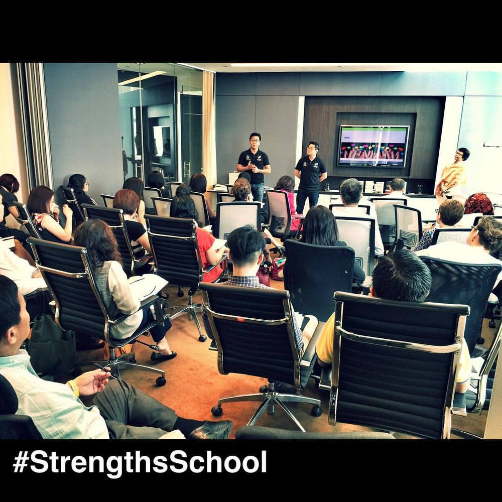 At #Gallup #Singapore sharing to potential #StrengthsFinder coaches our journey.  Victor and I really enjoyed connecting with the crowd of 50 this morning. We shared about how StrengthsFinder has impacted our lives and how we leverage StrengthsFinder to impact lives. If you were there today, do connect with us and we would love hear your StrengthsFinder journey.  #StrengthsQuest #StrengthsSchool #StrengthsFinderSG #Asia #HumanResource #Gallup #SelfImprovement #SelfDevelopment #TrainingAndDevelopment #ProfessionalDevelopment #StrengthsFindercoach Jason Ho StrengthsFinder Coach • Strengths School™ Singapore