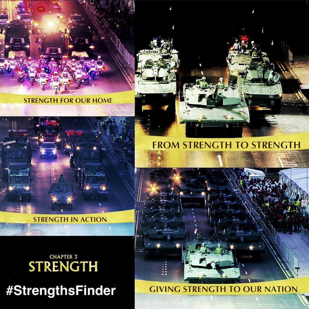 #StrengthsFinder in #Singapore #NDP2015 showing #Strength of the Nation    Strength was a portion of the National Day Parade (Chapter 3) which showcased our military might.     As elections fever is strong underway, it is good to reflect the resilience and strength that our leaders have demonstrated these last 50 years. Especially embodied by the strength of our late Prime Minister - Lee Kuan Yew     May we as a nation of Singapore find the strength to elect those we feel show the same strong leadership that has led us this far.     #StrengthsQuest #StrengthsSchool #StrengthsFinderSG #Asia #HumanResource #Gallup #SelfImprovement #SelfDevelopment #TrainingAndDevelopment #ProfessionalDevelopment #StrengthsFinderCoach    Jason Ho StrengthsFinder Coach • Strengths School™ Singapore