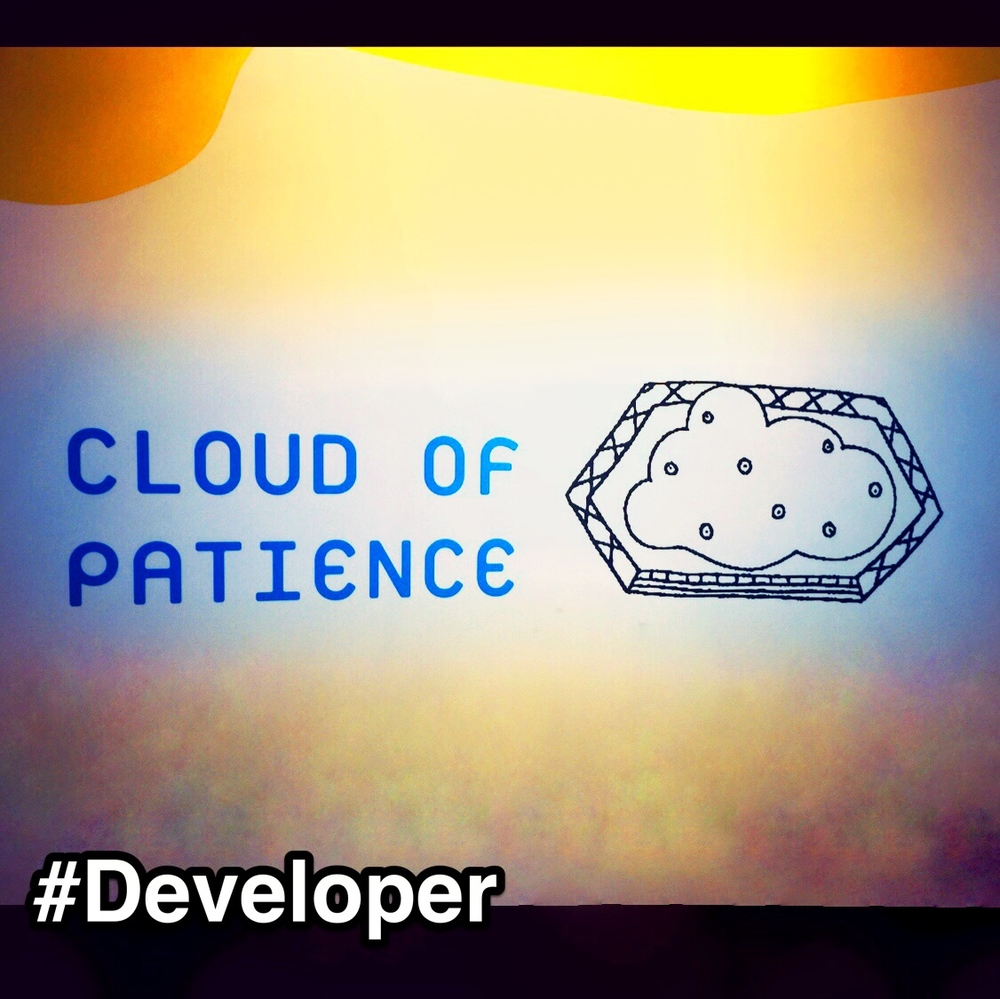 #StrengthsFinder #Developer is all about growth in a person; be it a team member, family member or even within the community. When it comes to developing someone, we can all agree that it takes a little breeze of faith, some sunlight of hope and a MASSIVE Cloud of PATIENCE!   But that doesn't stop people talented with Developer, their skies are filled with #patience for another. Giving the seed the right nurturing environment to grow and the courage to thrive. In the end, when the seed shows any sign of growth, they are all smiles.   I came across this on the wall when I was attending a children's superhero funfair in town. This was one of the stations that was teaching kids important values like honesty, patience and courage.   #StrengthsQuest #StrengthsSchool