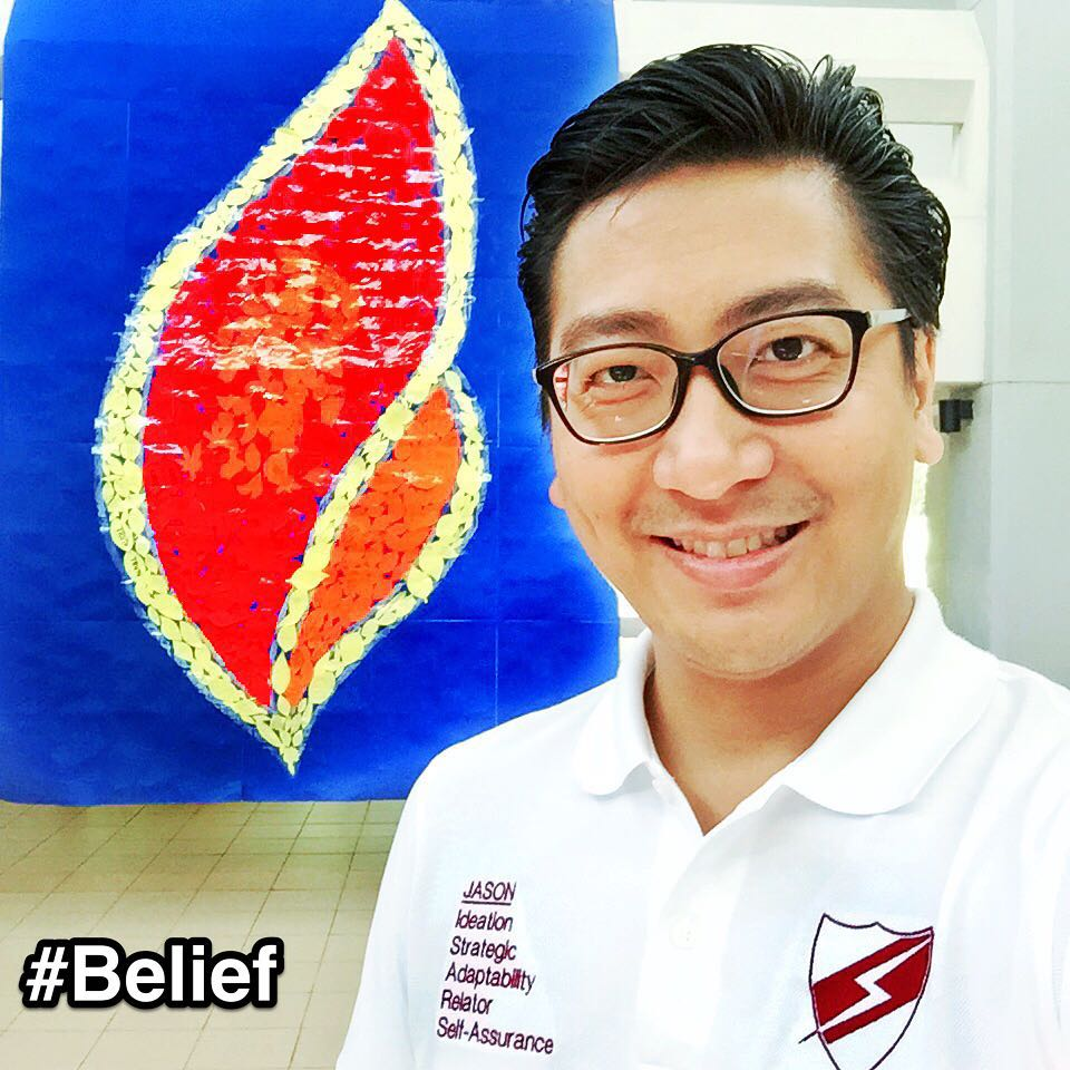 "At #CatholicJuniorCollege #Singapore to discuss how #StrengthsFinder can continue to benefit staff and students. Shared with their vice-principals the awesome feedback on the previous StrengthsFinder session and how to move forward in making #CJC a strengths-based school.    Saw this huge 🔥 #flame made up of many other smaller flames with handwritten wishes and it reminded me of the StrengthsFinder Talent #Belief.    A portion of the definition of Belief: ""These core values affect your behavior in many ways. They give your life meaning and satisfaction; in your view, success is more than money and prestige.""    Some of my friends ask me why I still do training for schools when I can concentrate on corporate training instead. The usual phrase they say is ""Corporate is where the money is…bro"". They are correct. But ""…success is more than money…""    When I see the lives of the students get impacted from the work we do, I am witnessing lives being changed. When everyone was pointing to them their weaknesses, I point to them their strengths. When affirmation is scarce, I give it generously. They leave the StrengthsFinder training knowing that they are super TALENTED, UNIQUE & GIFTED!    This small flame that was ignited in their hearts would hopefully fan into self-confidence and success in their own life journey.    How I wish someone would tell me when I was a student that my 'always last minute' weakness was actually a clue of my Adaptability talent and teach me how to harness its strength💪. And now I have that opportunity to tell the students just that    We have a slogan at Strengths School™     ⚡ 'Ignis Infitina Potential' which means Ignite Infinite Potential    I will continue this strengths movement in Singapore and Asia till every student's flame has been sparked💥   #StrengthsQuest #StrengthsSchool #StrengthsFinderSG #Asia #HumanResource #Gallup #SelfImprovement #SelfDevelopment #TrainingAndDevelopment #ProfessionalDevelopment #StrengthsFinderCoach    Jason Ho StrengthsFinder Coach • Strengths School™ Singapore"