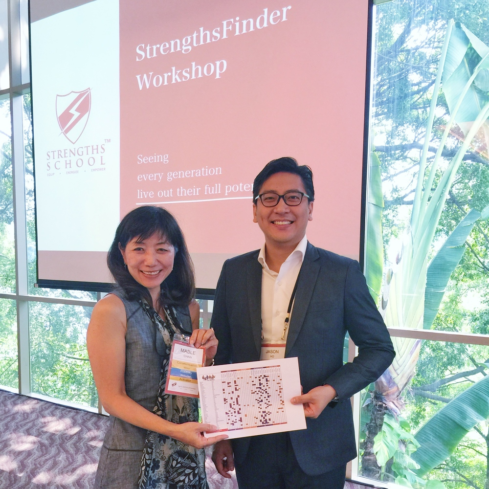 Jason Ho together with Mable Chan (HR Director of Singapore Press Holdings SPH)