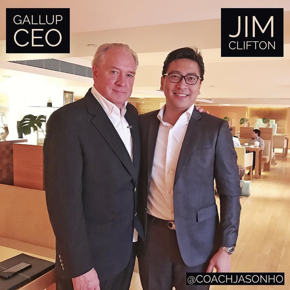 "Singapore - StrengthsFinder ""Godfather"" Gallup CEO Jim Clifton"