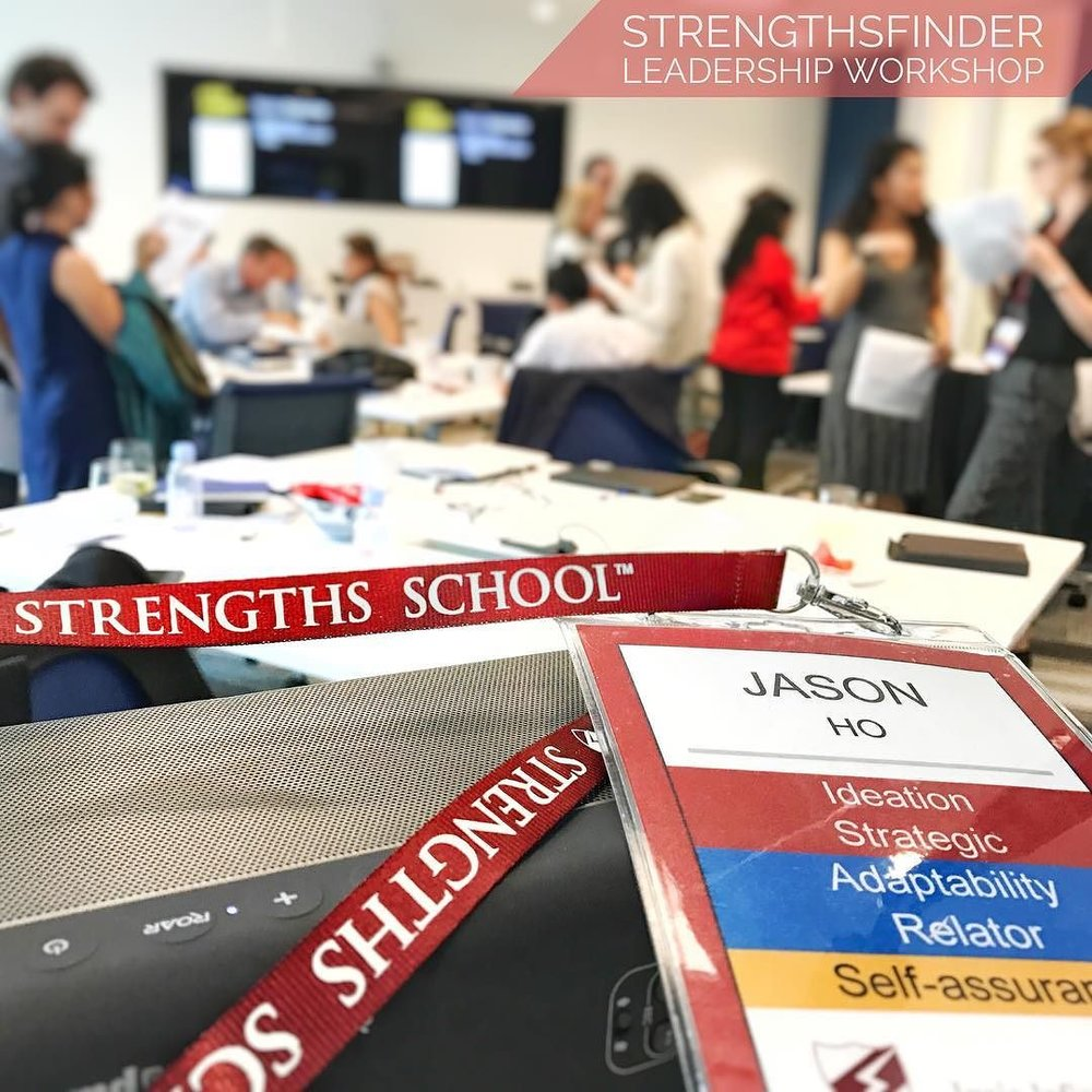 Singapore - StrengthsFinder Leadership Workshop at Robinson Road